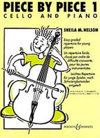 Piece by Piece 1, by Sheila Nelson, for Cello&Piano, Publisher Boosey & Hawkes