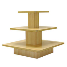 3 Tier Square Table