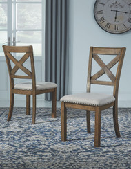 Moriville Beige Dining UPH Side Chair