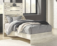 Cambeck Whitewash Twin Panel Bed