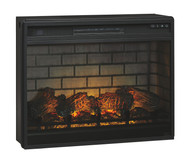 Entertainment Accessories Black LG Fireplace Insert Infrared