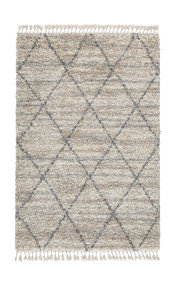 Abdalah Gray/Cream Large Rug