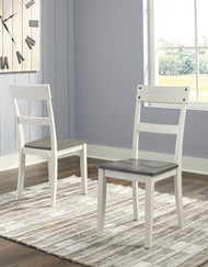 Nelling Two-tone Dining Room Side Chair (2/CN)