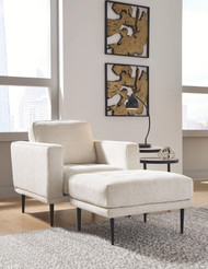 Caladeron Sandstone 2 Pc. Chair with Ottoman