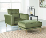 Macleary Moss 2 Pc. Chair, Ottoman