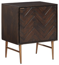 Dorvale Brown Accent Cabinet