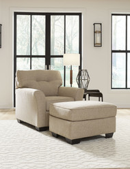 Ardmead Putty 2 Pc. Chair with Ottoman