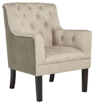 Drakelle Beige/Taupe Accent Chair