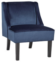 Janesley Navy Accent Chair