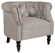 Deaza Taupe Accent Chair
