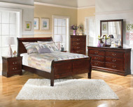 Alisdair 4 Pc. Dresser, Mirror & Full Sleigh Bed