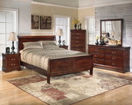Alisdair 4 Pc. Dresser, Mirror & Queen Sleigh Bed