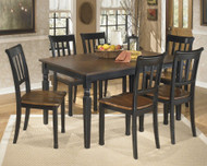 Owingsville 7 Pc. Rectangular Dining Room Table & 6 Side Chairs