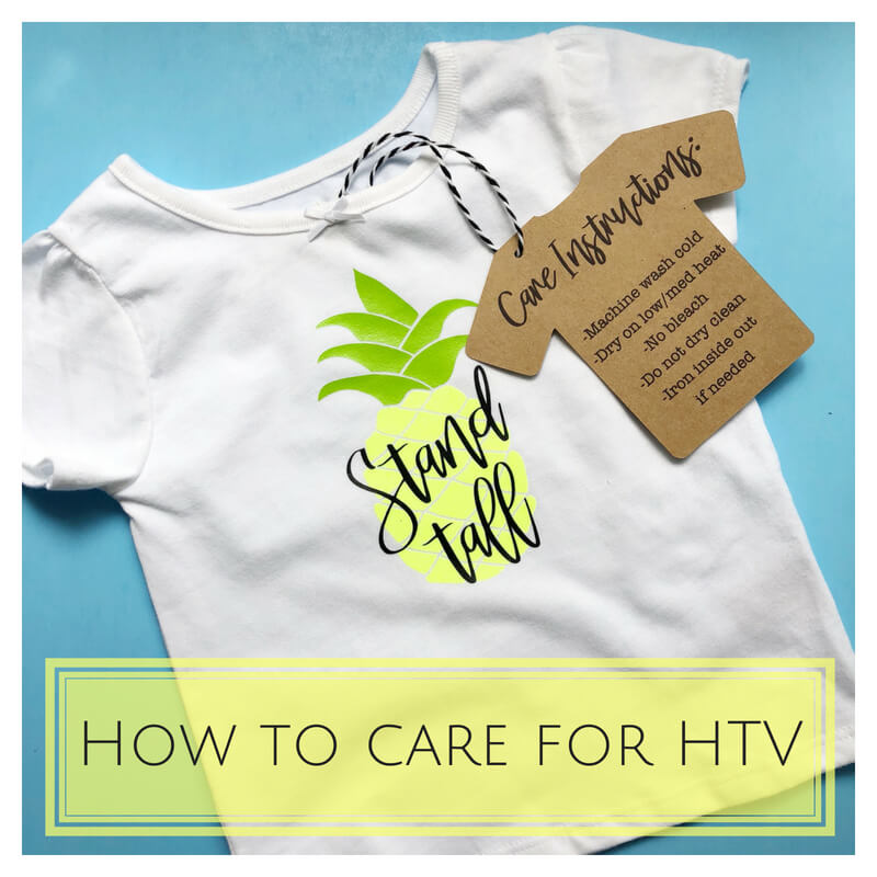 how to care for htv