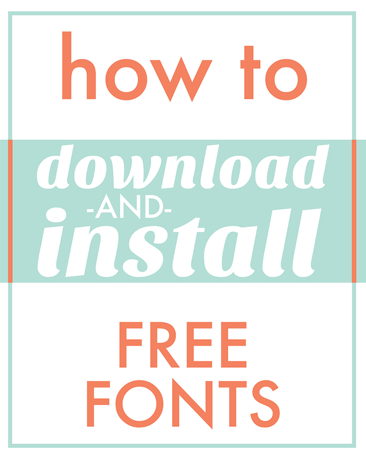 Download Fonts for Cricut and Silhouette | Craftables