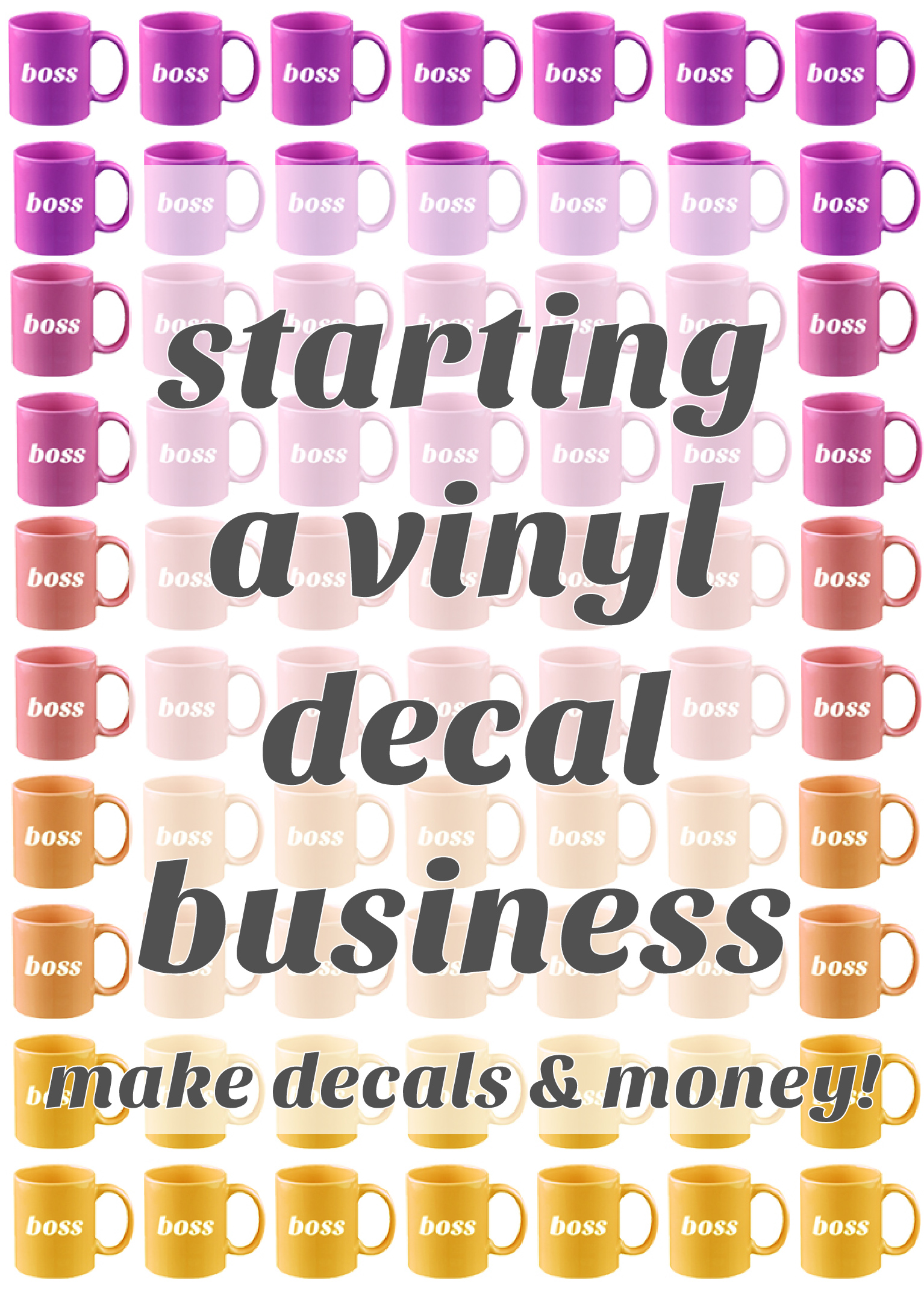 how to start vinyl business
