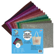 Craftables Glitter Heat Transfer Vinyl Girl's Pack