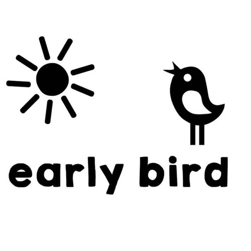 Early bird cut file