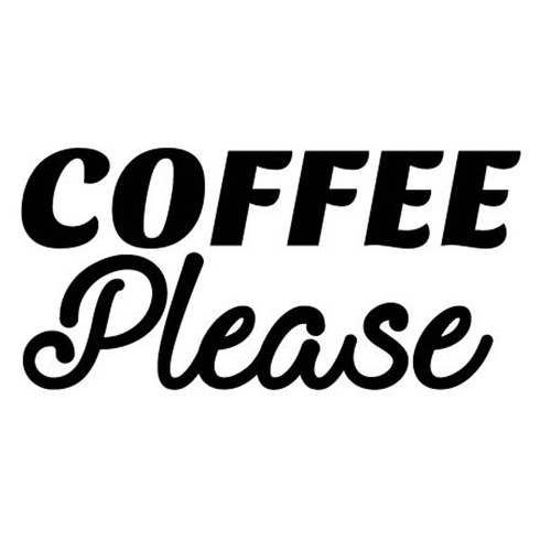 Coffee Please cut file