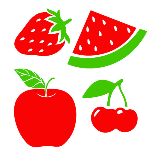 fruit svg cut file