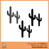 Free Cacti SVG Cut File