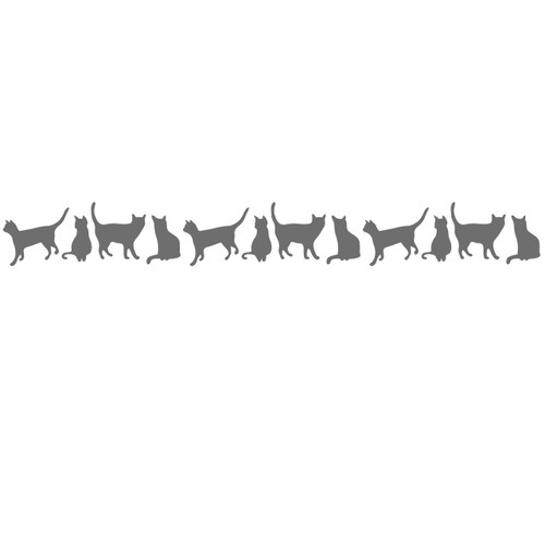 cat border theme svg cut files