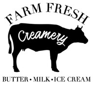 farm fresh creamery svg cut files
