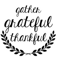 gather grateful svg cut files