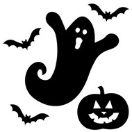 spooky ghost svg cut files