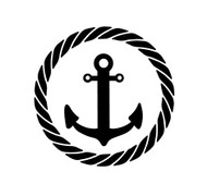 Free Anchor-With-Border SVG Cut Files
