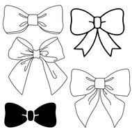 Free Bow SVG Cut File