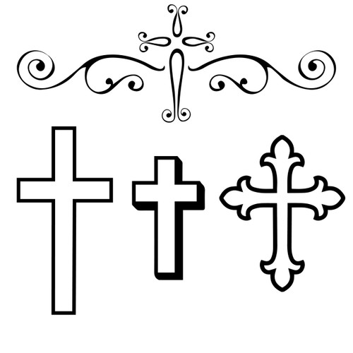 Free Cross SVG Cut File