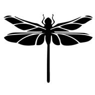 Free dragonfly SVG Cut File