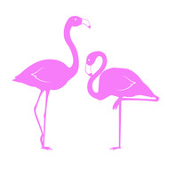 Free flamingo SVG Cut File