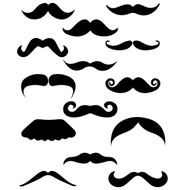 Free moustache SVG Cut File