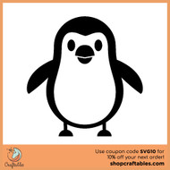 Free Penguin SVG Cut File