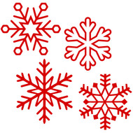 Free Snowflake SVG Cut File