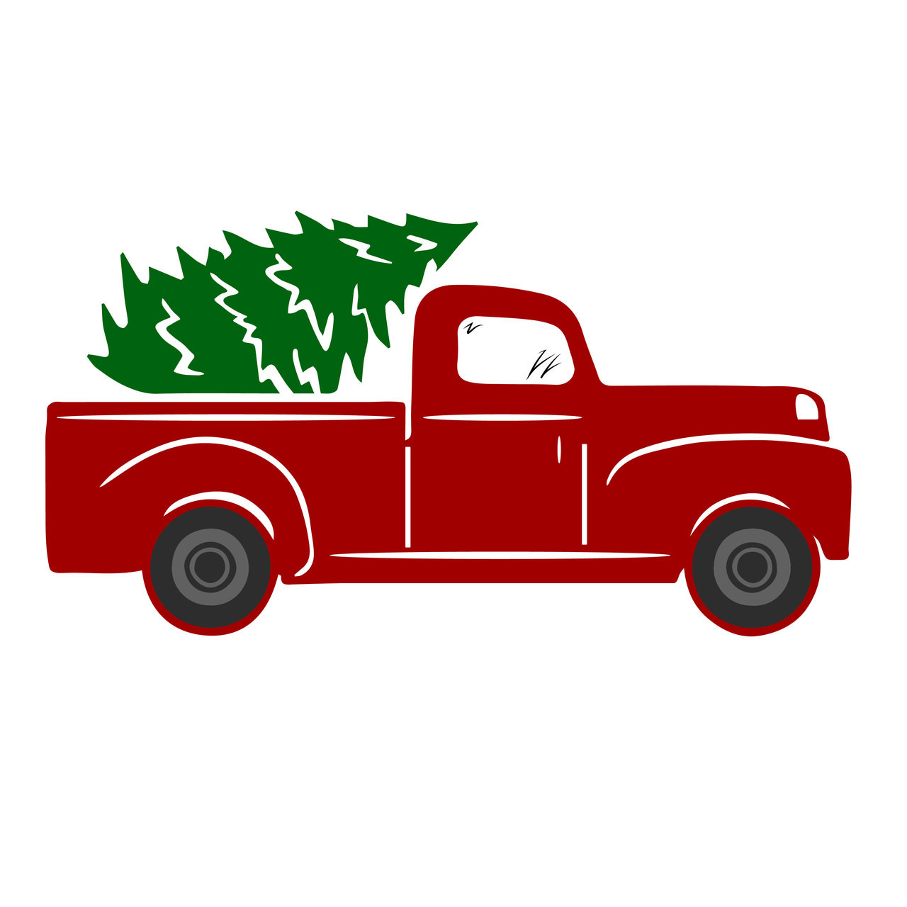 Free Tree Truck Svg Cut File | Craftables