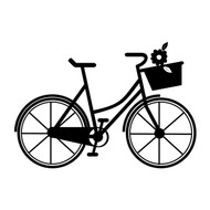 Free Bicycle SVG Cut File