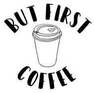 Free But First Coffee SVG Cut File