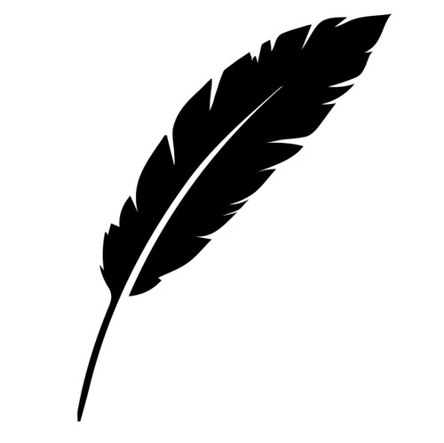 Free Feather SVG Cut File