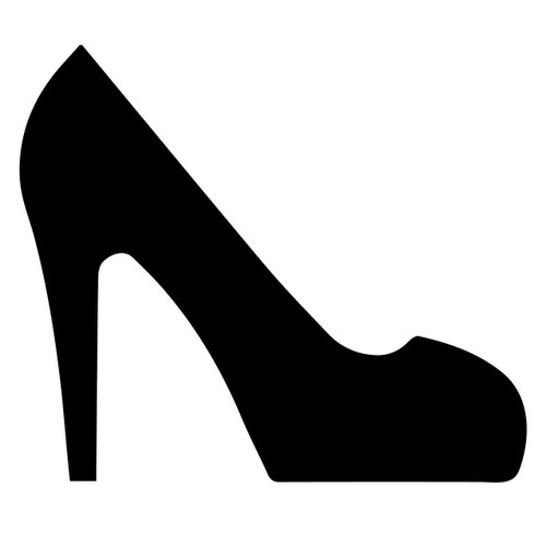 Free High Heel Shoe SVG Cut File