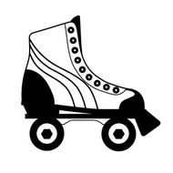Free Roller Skate SVG Cut File