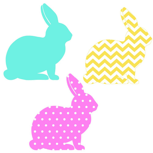 Free Bunny  SVG Cut File