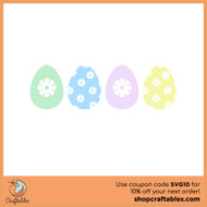 Free Easter Egg  SVG Cut File