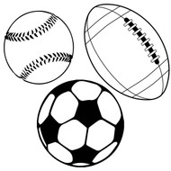 Free Sports Balls  SVG Cut File