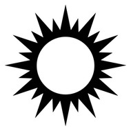 Free Sun  SVG Cut File