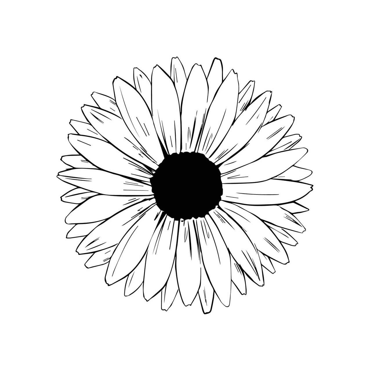 Free Sunflower SVG Cut File | Craftables