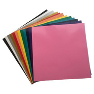 "Craftables Adhesive Vinyl Popular Pack - (12) 12"" x 12"" Sheets"
