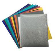 Craftables Back to School Grab Bag - (12) Sheets of Craftables Adhesive , HTV, and Stencil
